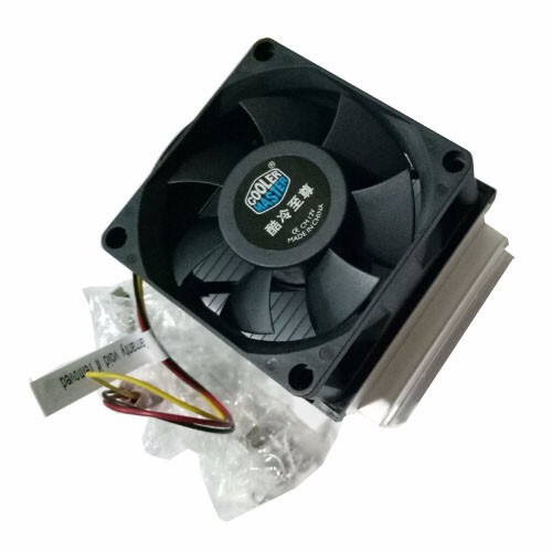 Original CoolerMaster cpu 478 fan A73, Silent 70mm cooling for Intel Socket 478 Pentium 4 Celeron D, CPU radiator cooling fan