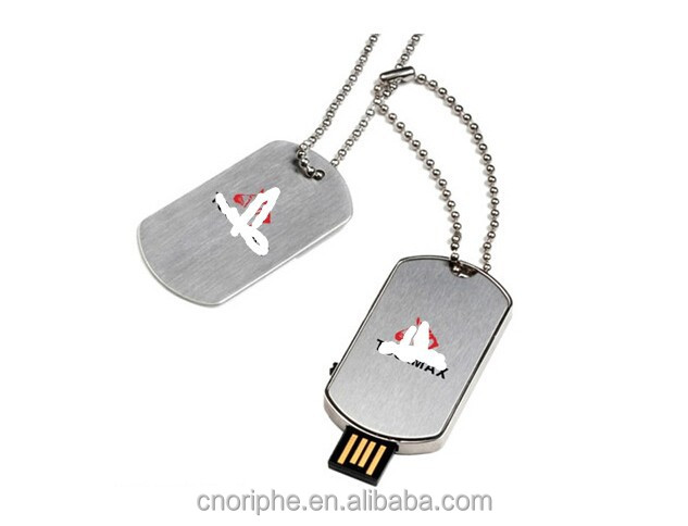 dog tag usb pen drive, good quality udog tag usb pen drive factory
