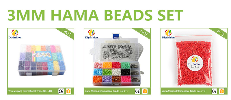 High quanlity 5mm water sticky Aqua super beads toys for kids