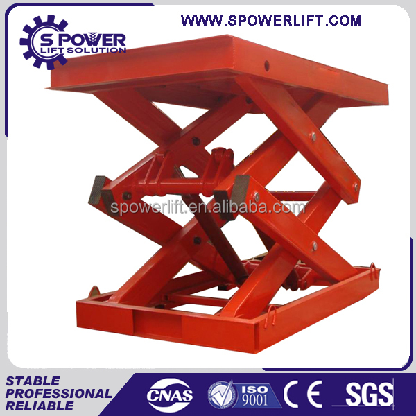 Spower good quality popular scissor lift china for second hand