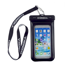 Convenient Cute Waterproof Mobile Phone Pouch For Fishing/Swimming/Diving