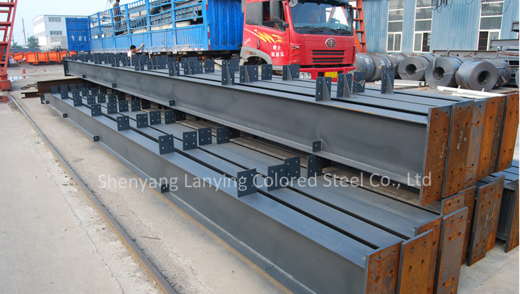 galvanized steel roof truss for building