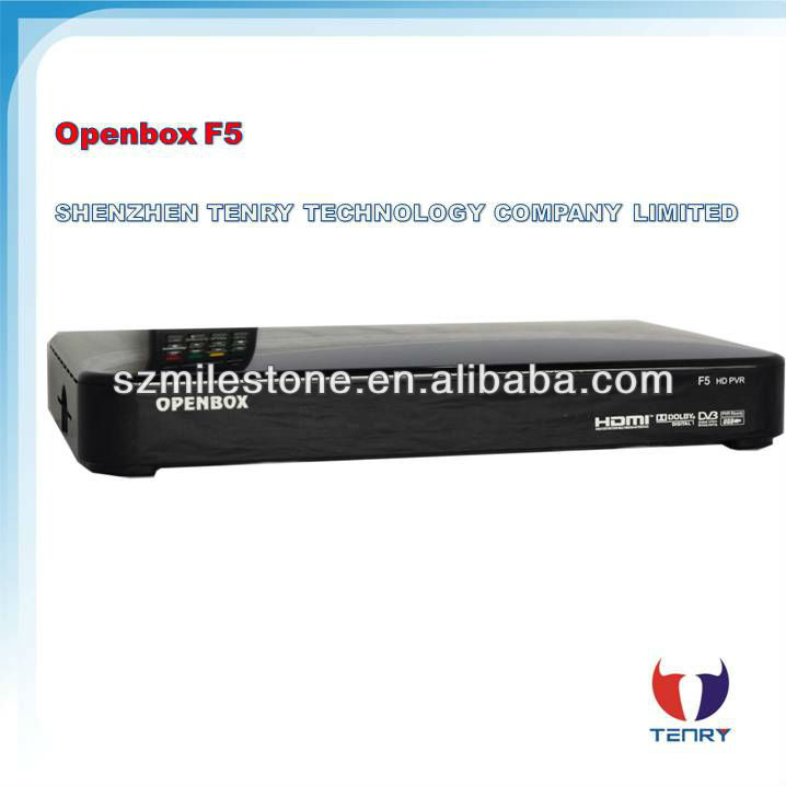 2013 Newest Original digital satellite receiver support 1080p Full HD openbox f5