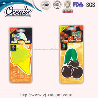 Wholesale New Design Promotional Paper Car Air Freshener