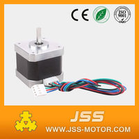 Threaded rod nema 17 stepper motor flat stepper motor china micro stepping electric motor
