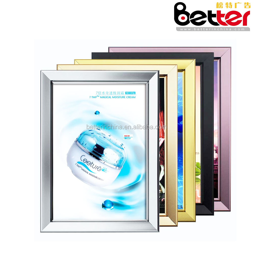 Bus Shelter Metro Station Hotel Lobby Ultra Thin Aluminum Frame Light Box