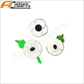 Remembrance Day White Poppy Pin Badge