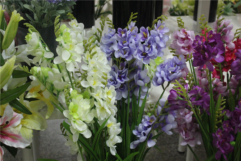 cheap wholesale small artificial lavender flower