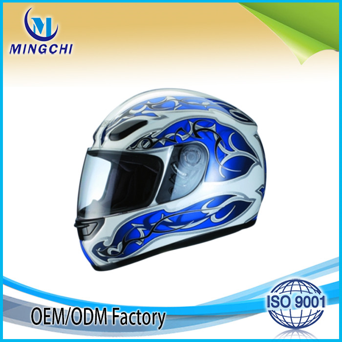New design full face helmet motorcycle full helmet with visor