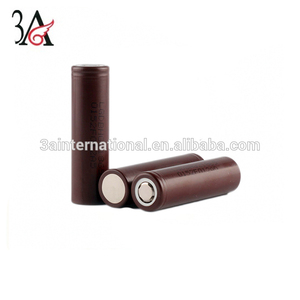 Lg hg2 3000mah 35A 3.7v li-ion rechargeable battery Electronic cigarette batteries