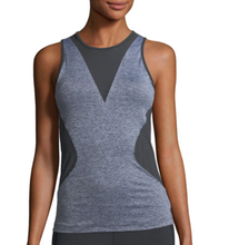 OEM custom women training wear mesh stitching vest breathable tank tops