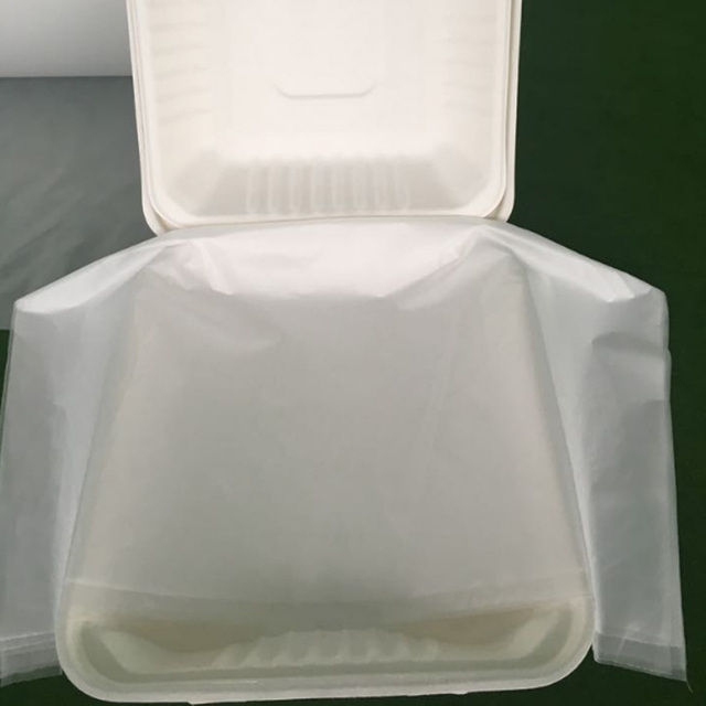 100% biodegradable and compostable film in roll/sheet for package hot rice