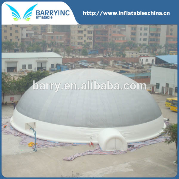 Custom PVC double layer comercial outdoor inflatable dome tent price
