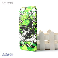 2016 Relief Human Skeleton Grain PC Mobile Phone Case for iphone 6/6s/plus