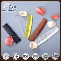 Portable Mens Plastic Hair Comb For Travel