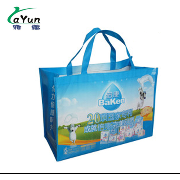 Colorful Custom Logo Lightweight lamination PP Non Woven Bag