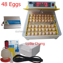 full automatic poultry egg incubator/48 chicken egg incubator hatchery machine(lydia Mob: 0086.15965977837)