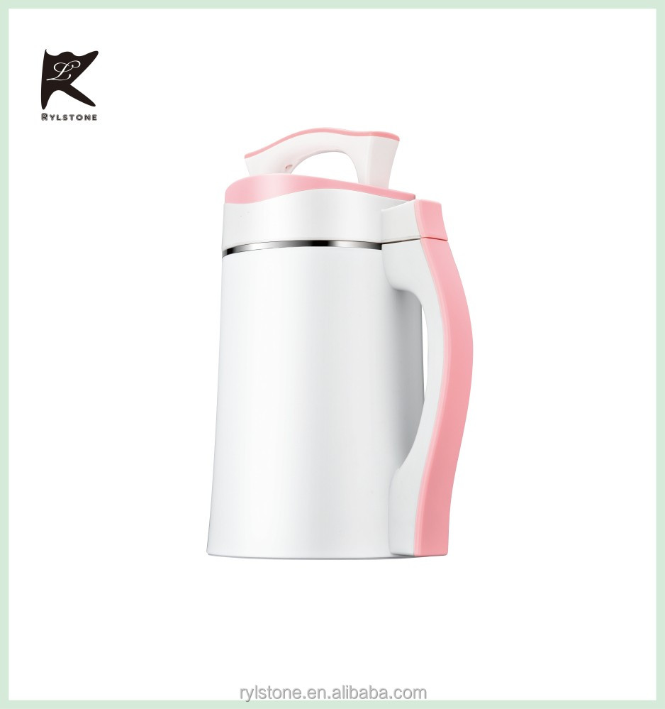 Hot selling customized 1.8L 800W soymilk maker and soup maker with CB CE certificates