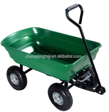 Easy assembly tool cart garden cart with 4 wheel beach wagon