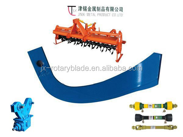 powerful rotary cultivator blade for tiller