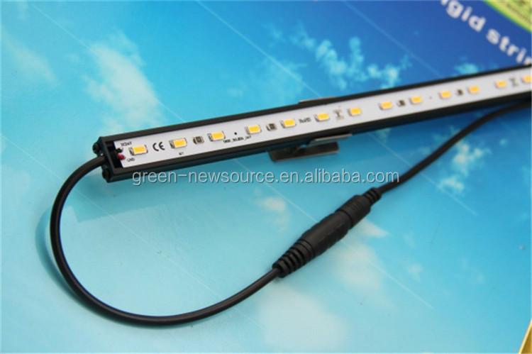 CE Rohs SMD5630 12V 24V led rigid strip Hard Strip Bar Light Aluminum Warm/Cold White