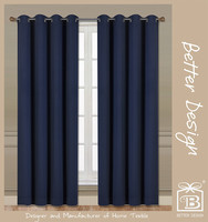 1pc wholesale solid weaving blackout window drapery curtains/tende made in china