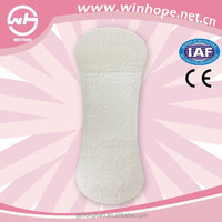Good Quality Breathable Ultra Thin Daily Use Disposable Panty Liners Cotton155mm OEM Free Sample Panty Lliners For Women