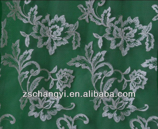 allover scalloped edge embroidery design lace fabric