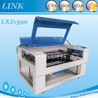 CE & ISO Certificated link 1390 80w laser cutting machine new/ 1390 laser wood burning machine