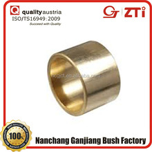 automotive oil retaining bronze casting slide bushing