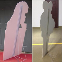promotion display stand/photo display stand/folding display stand