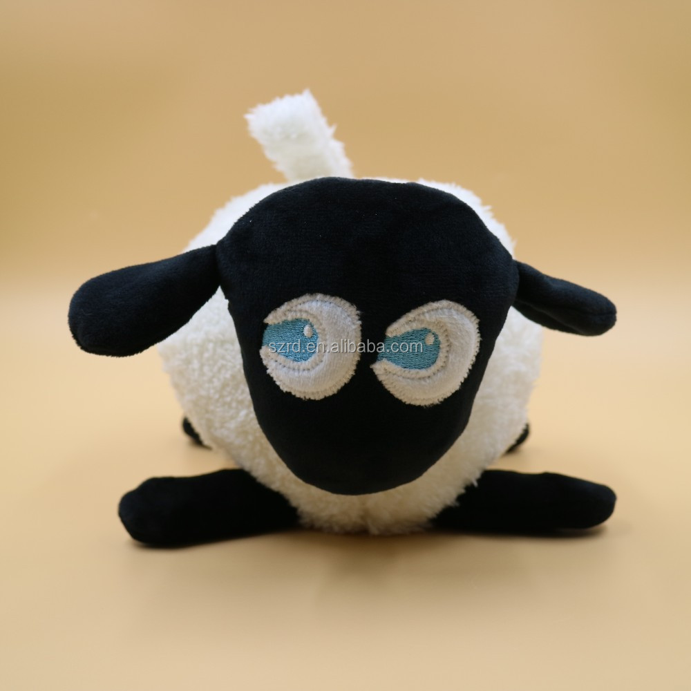 Customized ewan the dream sheep purple/grey/brack sound machine and sleep soother/plush animal toy/soft toy for baby