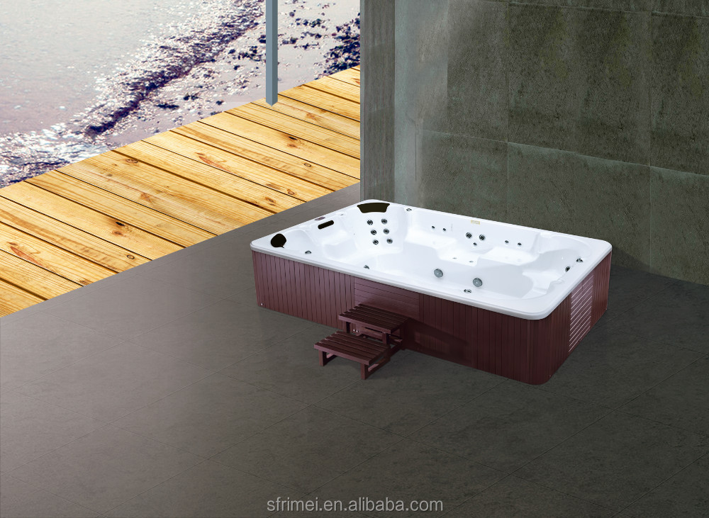 Rectangle Shape High Quality Swimming Pool Sexy Family Spa Tub