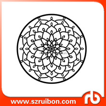 New design-Flower Wall Stencil-Plastic flower drawing stencil-plastic reusable stencils for decoration