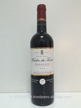 Bordeaux chateau moulin du terrier 2013 (silver award) wine