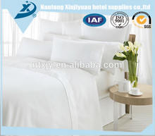 2017 New design Hotel Used 3cm satin stripe super king /queen size bedding set with good price