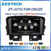 ZESTECH Factory Supplier CE certification and 7 inch 2 din Car audio for Chevrolet CRUZE auto parts with GPS Navigation