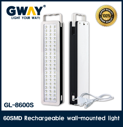 60pcs of 2835SMD LED emergency lantern with 5 hours working time with 300lm 6w