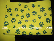 Logo printed nonwoven fabric pet wash cloth (for dog, cat, etc)