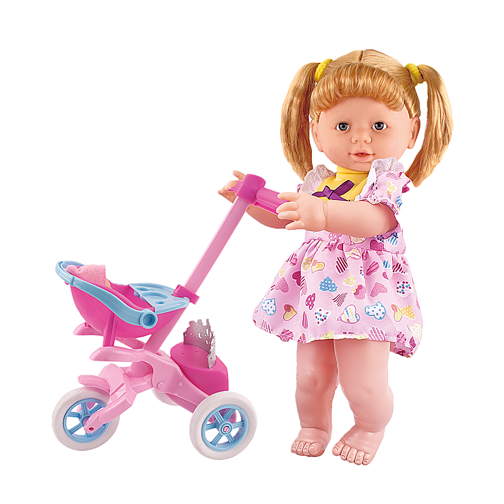 15 Inch Plastic Beauty Stroller <strong>Dolls</strong> For A Girl