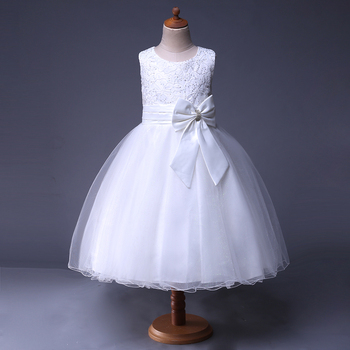 online garments white flower girl dresses for sale