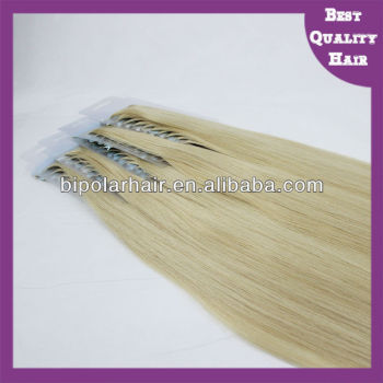 Wholesale good quality virgin remy tape in hair extensions