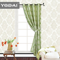 Fashion 100% Polyester Jacquard Voile Window Curtains For Living Room Modern