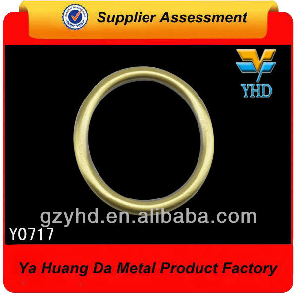 YHD wholesale 2013 most popular zinc alloy O ring for bag/luggage/case accessories
