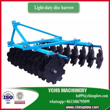 Agricultural machinery compact tractor disc harrow price