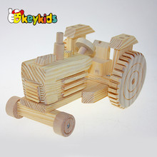 Wholesale baby wooden toy truck,new design kids wooden toy truck,high quality children wooden toy truck W04A138