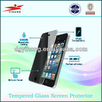 2013 new products tempered glass screen protector for iphone 5 screen guard