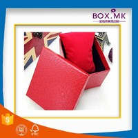 New Style Wholesale High Quality Fashionable Cheap Pillow Colorful Watch Paper Box