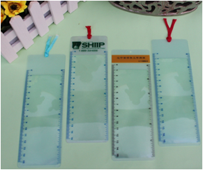 Bookmark magnifier /plastic magnifier cards