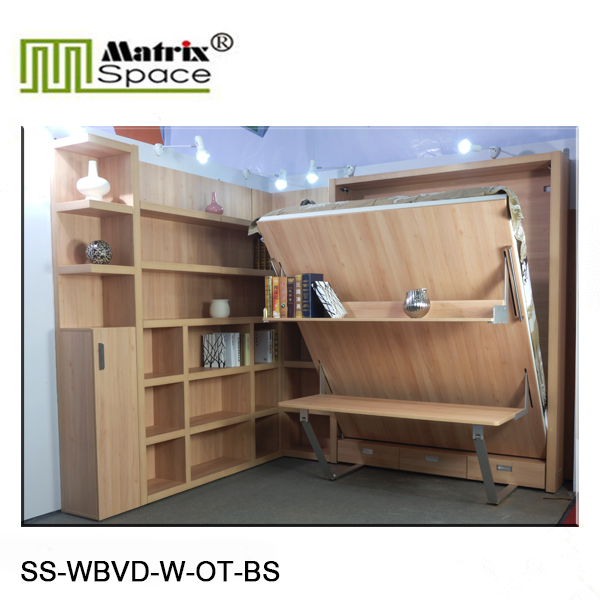 2015 Double Murphy Bed, Pull Down Bed, Vertical Wall Bed